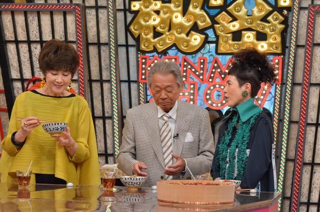 左から楠田枝里子、みのもんた、久本雅美。(c)読売テレビ