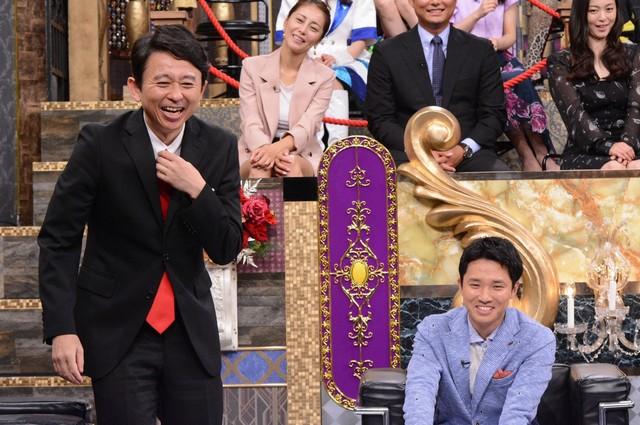 左から有吉弘行、渡辺裕太。(c)日本テレビ
