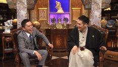 (左から)爆笑問題・太田、神田松之丞。(c)テレビ朝日