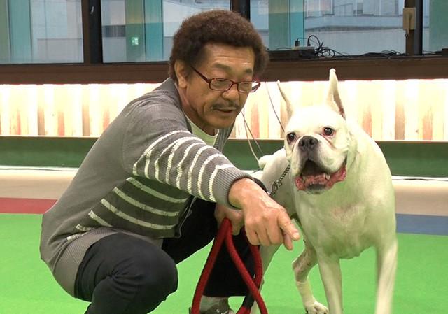 「ポンコツ飼い主」のコーナーに登場する具志堅用高。(c)テレビ東京