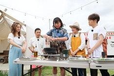 BBQのワンシーン。(c)関西テレビ