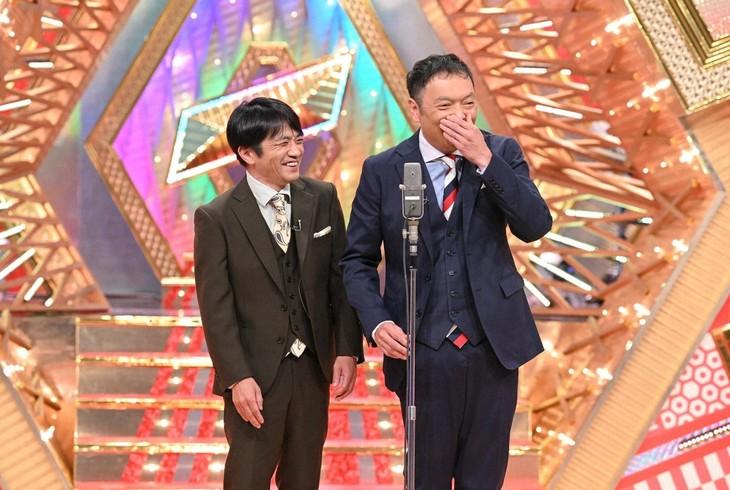 「ABCお笑いネタSONIC」に出演する中川家。(c)ABC