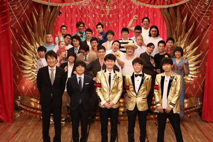「ネタパレ 2019夏SP」の出演者たち。(c)フジテレビ