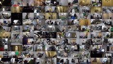 「のぞき見ドキュメント 100カメ」より。(c)NHK