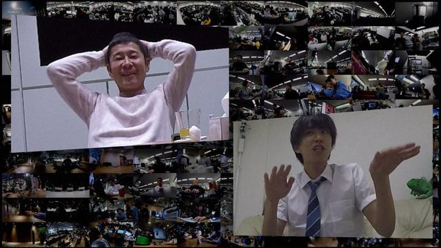 ZOZOデザイン部とはじめしゃちょーの畑に100台の固定カメラを設置。(c)NHK