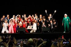 京都パルスプラザで行われた吉本坂46のイベントの様子。