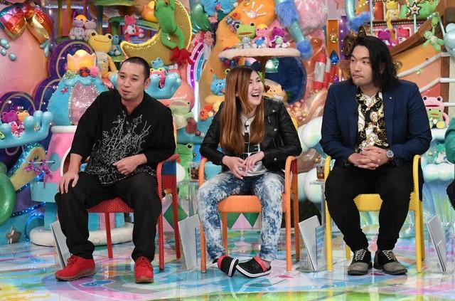 (左から)千鳥・大悟、納言・薄幸、見取り図・盛山。(c)テレビ朝日