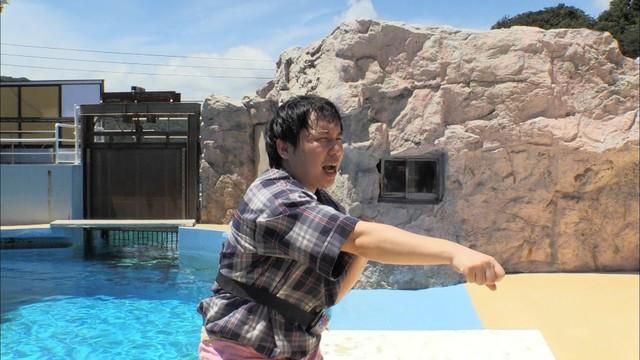 「冒険発掘バラエティ 霜降り明星のあてみなげ」のロケの様子。(c)静岡朝日テレビ