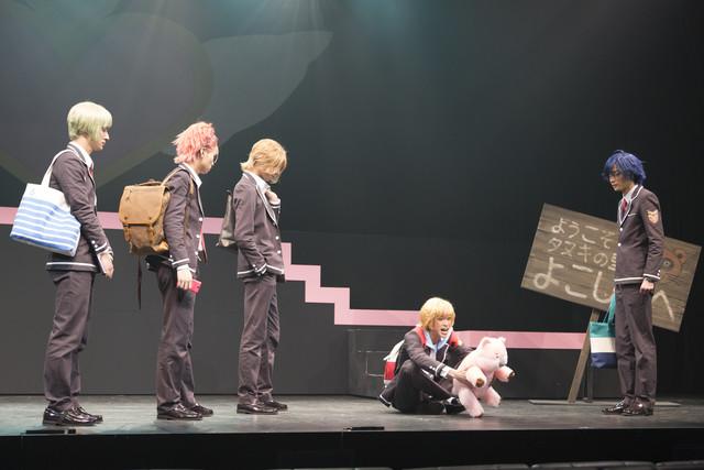 「美男高校地球防衛部LOVE!活劇!」公開ゲネプロの様子。