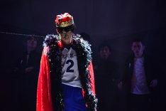 """「ハイパープロジェクション演劇『ハイキュー!!』""""頂の景色""""」公開ゲネプロの様子。"""