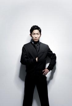 石田明演じる坂本龍馬。