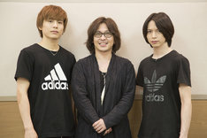 (左から)宮崎秋人、西田大輔、北村諒。