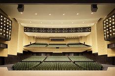 日本青年館ホールのイメージフォト。