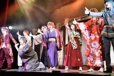 歌劇「明治東亰恋伽~朧月の黒き猫~」ゲネプロより。
