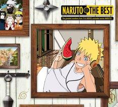 「NARUTO THE BEST」ジャケット (c)岸本斉史 スコット/集英社・テレビ東京・ぴえろ