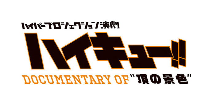 """「ハイパープロジェクション演劇『ハイキュー!!』 Documentary of """"頂の景色""""」ロゴ"""