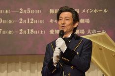 ミュージカル「フランケンシュタイン」製作発表記者会見より。鈴木壮麻。