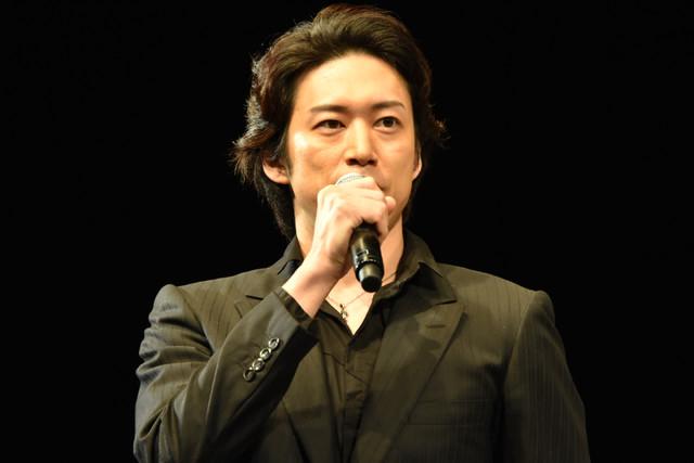 ミュージカル「ロミオ&ジュリエット」制作発表より。宮尾俊太郎。