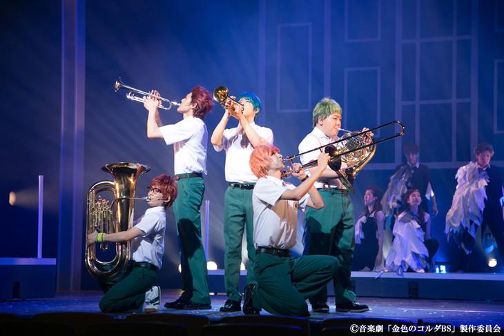音楽劇「金色のコルダ Blue♪Sky Prelude of 至誠館」ゲネプロの様子。