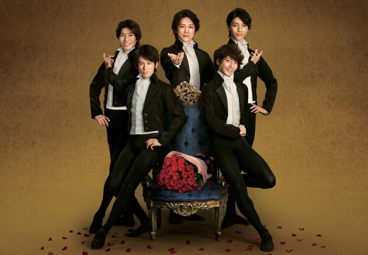 「日テレプラス presents『バレエ王子 ~あなたに薔薇の花束を~』」ビジュアル (c)CS日テレ