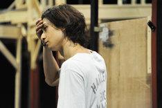 「ミュージカル『黒執事』~NOAH'S ARK CIRCUS~」稽古の様子。セバスチャン・ミカエリスを演じる古川雄大。