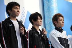左から宮崎秋人、松田凌、安西慎太郎。
