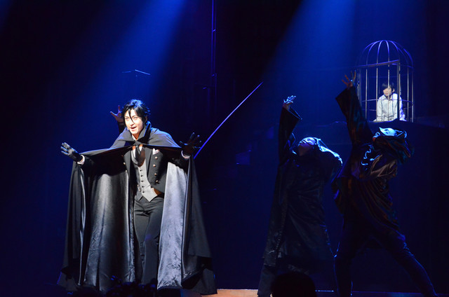 「ミュージカル『黒執事』~NOAH'S ARK CIRCUS~」ゲネプロの様子。