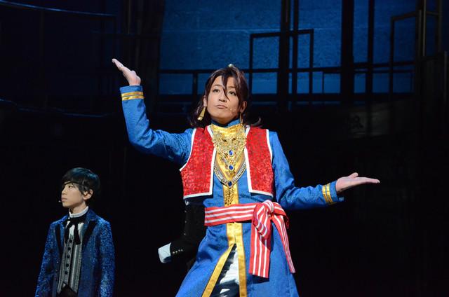 「ミュージカル『黒執事』~NOAH'S ARK CIRCUS~」ゲネプロの様子。陳内将演じるソーマ・アスマン・カダール。