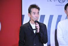 「浅草九劇」製作発表会見より、小野寺修二。