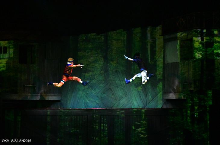 「ライブ・スペクタクル『NARUTO-ナルト-』ワールドツアー」杭州公演の様子。