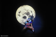 「ライブ・スペクタクル『NARUTO-ナルト-』ワールドツアー」杭州公演より、元木聖也演じるうずまきナルト。