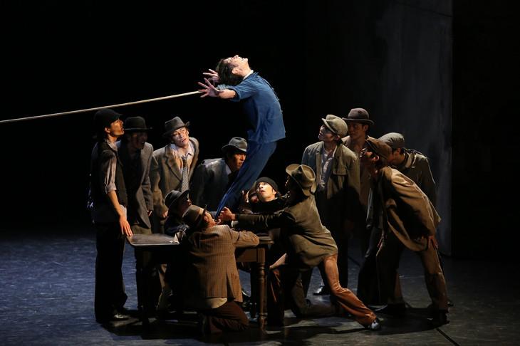 「中国の不思議な役人」ウィーン国立歌劇場公演より。(Photo:Kiyonori Hasegawa)