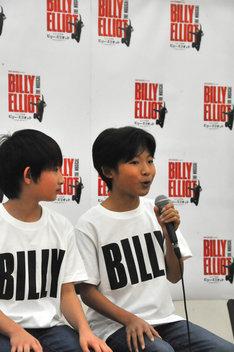 ビリーが劇中で語る、踊る時の不思議な気持ちに共感したと話す未来和樹。