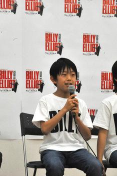 オーディションを受けたきっかけは「僕もバレエをやっていてビリーに近いものを感じたから」と話す加藤航世。