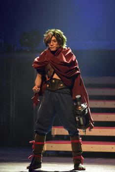 2.5 Escape Stage「甲鉄城のカバネリ」ゲネプロより、伊崎龍次郎演じる生駒。