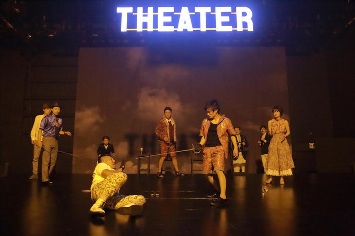 2014年に上演されたKUNIO11「ハムレット」より。(撮影:清水俊洋)