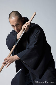 「六本木歌舞伎 第二弾『座頭市』」市川海老蔵ビジュアル