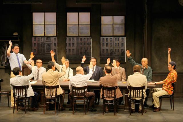 「十二人の怒れる男たち」過去の公演より。