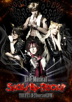 「Live Musical『SHOW BY ROCK!!』」新作公演のビジュアル。