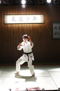 「Dステ20th『柔道少年』」より、宮崎秋人演じるキョンチャン。