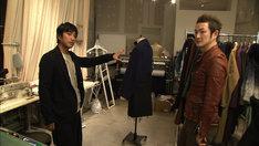 NHK Eテレ「SWITCHインタビュー 達人達(たち)『中村獅童×三原康裕』」より。(c)NHK