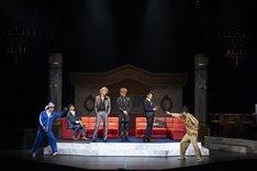 TOEI HERO NEXT ステージ「舞台『さらば俺たち賞金稼ぎ団』」ゲネプロより。