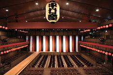 名古屋平成中村座の内観イメージ。