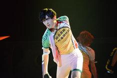 「舞台『弱虫ペダル』新インターハイ篇~スタートライン~」ゲネプロより、田川大樹演じる古賀公貴。