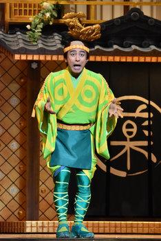 「ブロードウェイ・ミュージカル『コメディ・トゥナイト!ローマで起こったおかしな出来事《江戸版》』」より、片岡愛之助演じる丁吉。