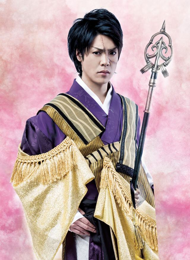 鷹松宏一演じる顕如。