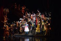 劇団四季 ミュージカル「オペラ座の怪人」横浜公演最終通し舞台稽古より。