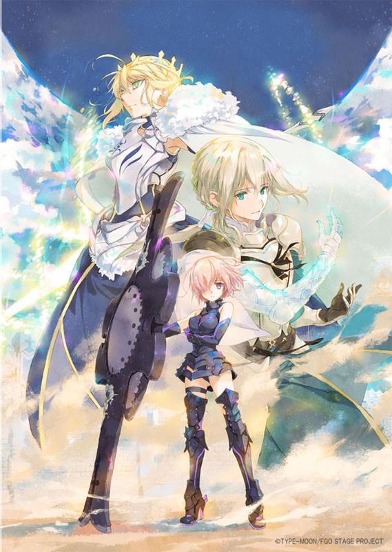 「Fate/Grand Order」舞台化告知イラスト (c)細居美恵子