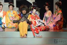 ONWARD presents「劇団☆新感線『髑髏城の七人』 Season 花 Produced by TBS」プレスコールより。
