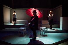2016年に上演された牡丹茶房「縋り雨」より。(撮影:横山将勝)